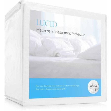 Lucid Zippered Mattress Encasement Bed Bug And Waterproof Protector