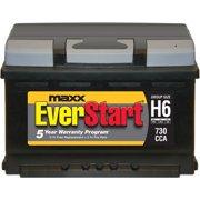 EverStart Maxx Lead Acid Automotive Battery, Group h6