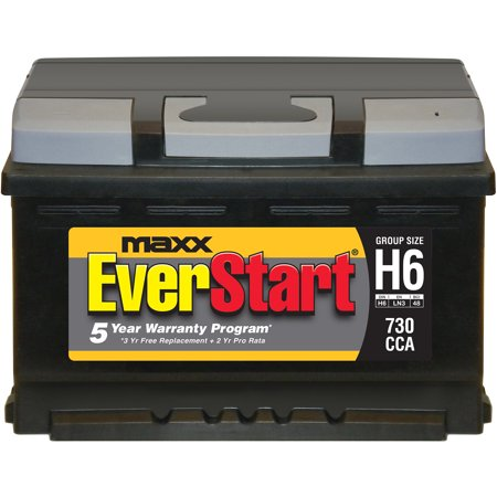 Everstart Maxx Lead Acid Automotive Battery Group H6 Walmart Com