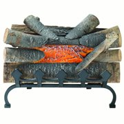 Enjoyable Fake Fireplace Logs Interior Design Ideas Tzicisoteloinfo