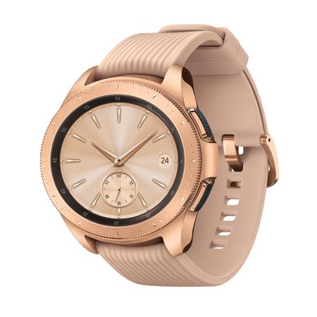 SAMSUNG Galaxy Watch - Bluetooth Smart Watch (42 mm) - Rose Gold - (Fossil Q Wander Vs Samsung Gear S2)