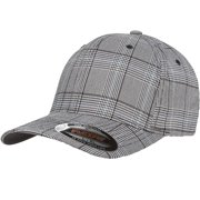 600f831543e9da The Hat Pros Fitted Hat Glen Check Patterned Fabric Flexfit Cap 6196  Small/Medium ?