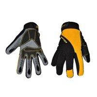 G & F 1089L Hyper Grip Non-Slip High-Performance Mechanic Work Gloves, Driving Gloves, Large