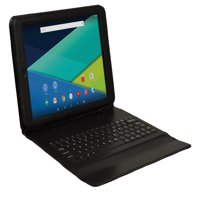 "Visual Land Prestige 10.1"" Quad Core Tablet 16GB includes Keyboard Case"