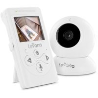 Levana Lila, Video Baby Monitor, Night Vision, Talk to Baby Intercom