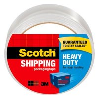 Scotch Heavy Duty Shipping Packaging Tape, 1.88 in x 54.6 yd, 1/Pack