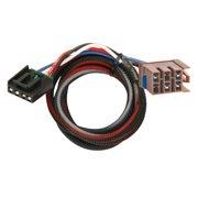 tekonsha 3015-p trailer brake control wiring harness - 2 plugs, gm
