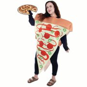 685742c663e8 Inc. Supreme Pizza Slice Halloween Costume | Adult Unisex Funny Food Outfit
