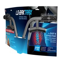 Lo Bak Trax Back Stretcher - Dual Traction Force Spinal Traction Device As Seen on TV