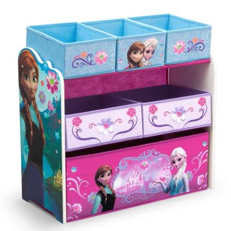 Disney Frozen Multi-Bin Toy Organizer by Delta Children - Store For Kid
