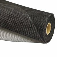 21 inch x 10 yard Twirl-N-Wrap Mesh Roll - Black