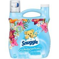 Snuggle Exhilarations Liquid Fabric Softener, Island Hibiscus & Rainflower, 96 Ounce, 112 Loads