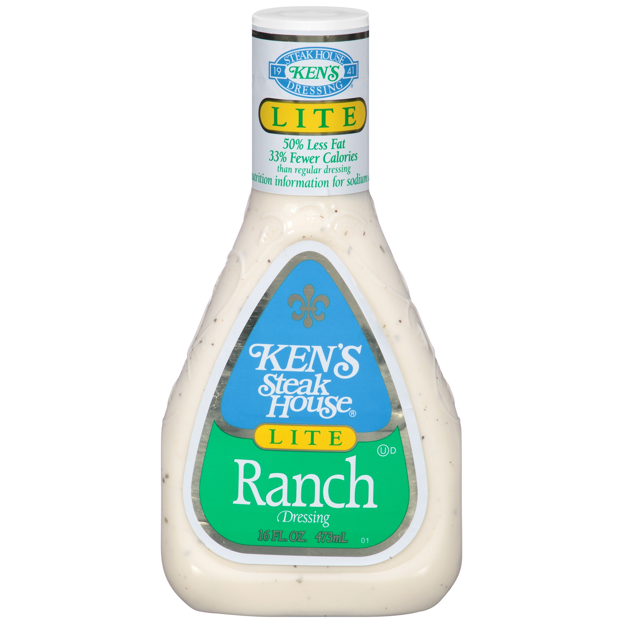 Ken's Steak House Ranch Dressing, 16 FL OZ (Pack of 6)