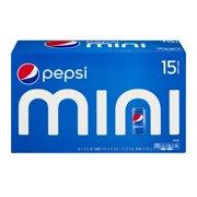 Pepsi Mini Cans - 15 CT