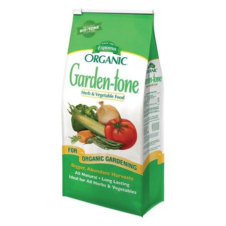 Espoma Organic Garden-tone 3-4-4, 18 lbs ()