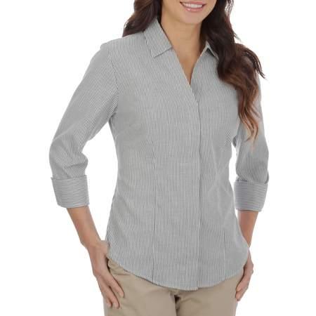 Classic Woven Shirt (Women's 3/4 Sleeve Classic Career)