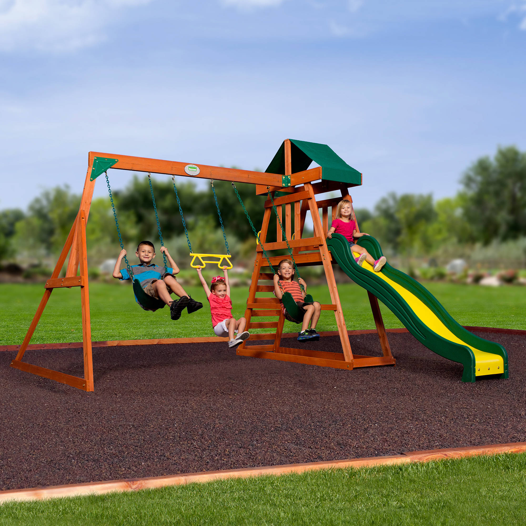 Backyard Discovery Swing Sets