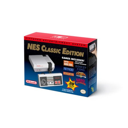 Nintendo Entertainment System Nes Classic Edition Walmart Com