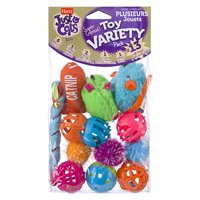 Hartz Just For Cats Cat Toy Variety Pack, 13 Count