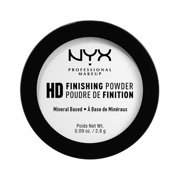 (2 Pack) NYX Professional Makeup High Definition Finishing Powder Mini, Translucent