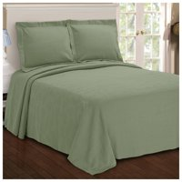 Superior 100 Percent Cotton Paisley Matelasse Bedspread