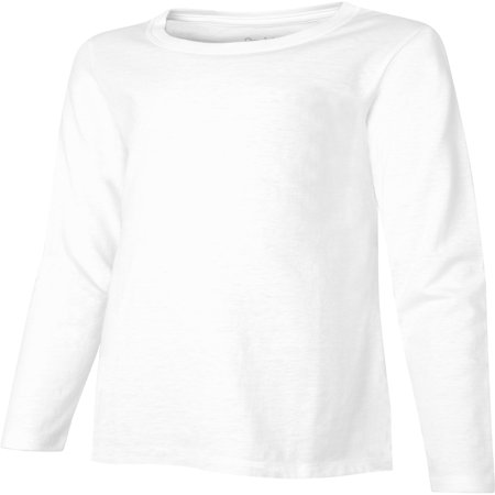 Deluxe Long Sleeve Shirt - Hanes Girls Lightweight Long Sleeve T-shirt