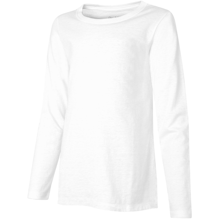 Hanes Girls Lightweight Long Sleeve T-shirt