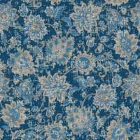Waverly Inspirations Jaco Navy 100% Cotton Duck Fabric 45'' Wide, 180 Gsm, Quilt Crafts Cut By The Yard