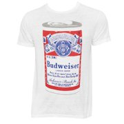 c6df701b7ea6d Men s Budweiser Big Can White T-Shirt