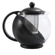 1166074da44 Primula TODAY Kate Half Moon Borosilicate Glass Teapot with Stainless Steel  Infuser - 40 oz