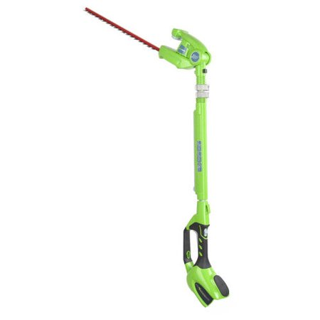 Greenworks 20-Inch 40V Cordless Pole Hedge Trimmer, Battery Not Included -