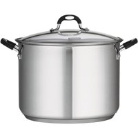 Tramontina Stainless Steel 16-Quart Covered Stock Pot