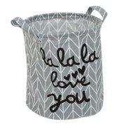 Folding Linen Laundry Basket Storage Barrel Storage Basket Toy Clothes Storage Box
