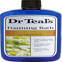 (2 pack) Dr Teal's Foaming Bubble Bath with Pure Epsom Salt and Chamomile, 34 fl oz