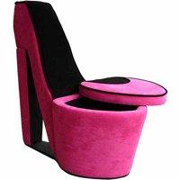 High Heels Storage Chair, Multiple Colors
