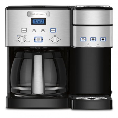 Cuisinart Coffee Makers Coffee Center™ 12 Cup Coffeemaker and Single-Serve - Black Brewer