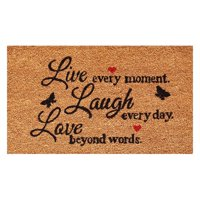 Live Every Moment Doormat