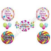 SWEET SHOP CANDY CRUSH 16th Happy Birthday PARTY Balloons Decorations Supplies Candyland SagA