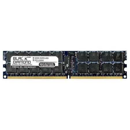 - 2GB RAM Memory for IBM BladeCenter Series JS21 8844 240pin PC2-3200 DDR2 ECC Registered RDIMM 400MHz Black Diamond Memory Module Upgrade
