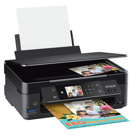 Epson Expression Home XP-440 Inkjet Multifunction Printer - Color - Plain Paper Print -