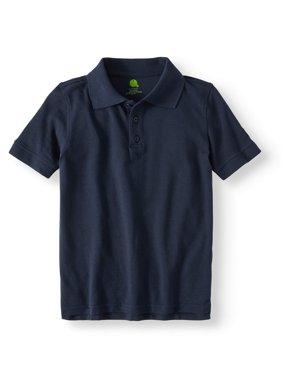 Boys Short Sleeve Pique Polo Shirt School Uniform Approved