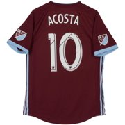 5d84761a372 Kellyn Acosta Colorado Rapids Autographed Match-Used Maroon #10 Jersey from  the 2018 MLS