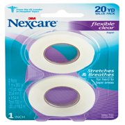 Nexcare Flexible Clear, 1 in x 360 in