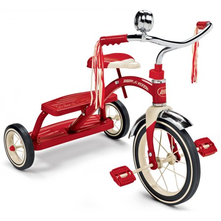 Radio Flyer, Classic Red Dual Deck Tricycle, 12