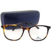 e62130858854 Lacoste L2804-214-52 Oval Women's Tortoise Frame Clear Lens Genuine  Eyeglasses
