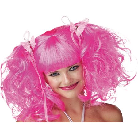 Pixie Adult Halloween Wig - Short Pink Wigs