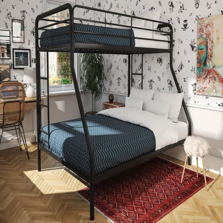 Dhp Twin Over Full Metal Bunk Bed Frame Multiple Colors Walmartcom