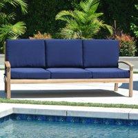 Willow Creek Designs Huntington Teak Sofa with Sunbrella Cushion