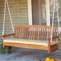 Blazing Needles 57 x 19 in. Outdoor Standard Patio Bench Cushion