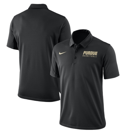 Purdue Boilermakers Nike 2017-2018 Coaches Elite Basketball Polo - (Nike Air Max 90 Leather Black Grey)